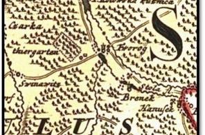 Tworog-i-okolice-na-mapie-ksiestwa-opolskiego-1736-r