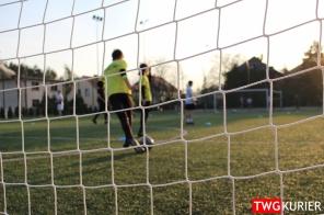 """Uczniowski Klub Sportowy """"Akademia Piłki Nożnej"""" z Tworoga - trening"""