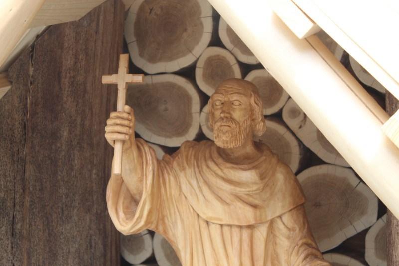 drewniana kapliczka św. Gwalberta