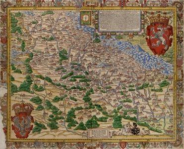 Mapa Martina Helwig z 1561 r.