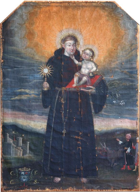 obraz św. antoniego